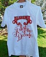 Vintage ~ 1980's Alabama ~ Artists of the Decade ~ T Shirt ~ Adult Size M