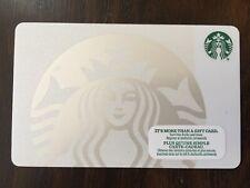 "Canada Series Starbucks ""WHITE SIREN 2015"" Gift Card - New No Value"