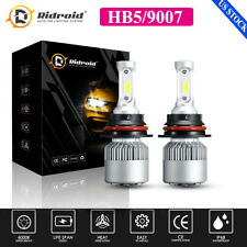 HB5 9007 LED Headlights 300000LM LED Lights Bulbs Kit High Low Beam Super Bright