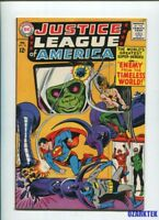JUSTICE LEAGUE OF AMERICA #33 1965 ALIEN-ATOR ENEMY From TIMELESS World JLA DC