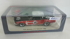 FORD MUSTANG TRANS-AM 1969, FORD , MUSTANG, SPARK, 1:43 CAR RACING