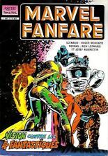 Album MARVEL FANFARE--VISION contre les 4 FANTASTIQUES--AREDIT super star