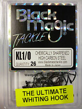 Black Magic Tackle KL 1/0  Circle Hooks Whiting 26pack  FREE SHIPPING!