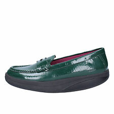 women's shoes MBT 6 / 6,5 (EU 37) loafers green patent leather AC150-B