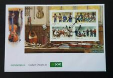 Ireland 2008 M/S 1923 Irish Music (2nd Series) FDC