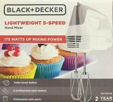 BLACK+DECKER - MX3200W - 6-Speed Hand Mixer with 5 Attachments & Storage Case