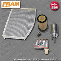 SERVICE KIT VW JETTA MK5 1K 2.0 TFSI TSI FRAM OIL FUEL CABIN FILTER PLUG (04-10)