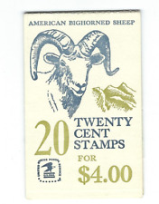 Scott #1949 .. 20 Cent.. Bighorned Sheep...Booklet With 20 Stamps...P #34