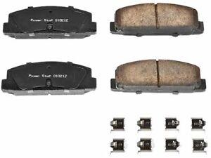 For 2003 Mazda Protege Disc Brake Pad and Hardware Kit Rear Power Stop 38458PK