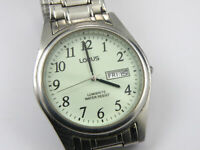 VX43-X015 Lorus Gents Lumibrite Watch - 100m