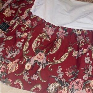Ralph Lauren Danielle Marseilles floral bed skirt