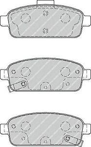 Kit pastiglie posteriore FERODO FDB4265 CHEVROLET