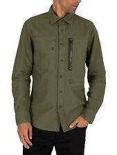 G-Star Men's Powel Slim Shirt, Green