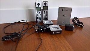 TELEFONO INALAMBRICO Motorola D702 Color Negro/gris. practicamente nuevo.
