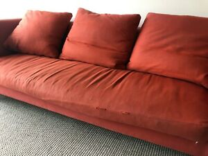 4-Seater Sofa Italian design - duck feather filled cushions