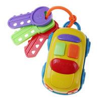 Music Car Key Shaped Toy Crib  Toy Baby Bed Pram Toy Gift