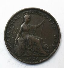 1826 UK One 1 Farthing - George IV 1st issue - aEF Lot 47