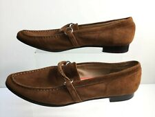 Land's End Suede Brown Womens Loafers EU 37.5 / UK 5