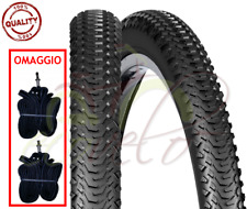 2 COPERTONI PNEUMATICI +CAMERE MTB COUNTRY BICI 26 X 2.00 (50-559) MOUNTAIN BIKE