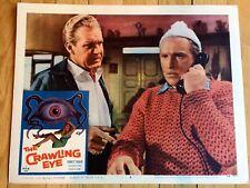 THE CRAWLING EYE 1958, ORIGINAL LOBBY CARD - SCI FI