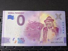 BILLET EURO SOUVENIR 2021-2 SLOVAQUIE GORAL PIENINSKY