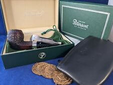 More details for peterson sherlock holmes, baker street rustic. p/lip. estate pipe. made in...