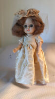 Vintage GINGER COS TOY Bride Doll Straight Leg Walker ALL ORG CLOTHES FREE SHIP