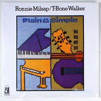 Ronnie Milsap - Plain and Simple (1979) [SEALED] Vinyl LP • & T-Bone Walker