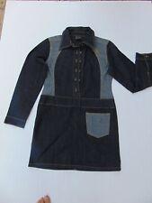 FUBU blue denim dress, womens size M
