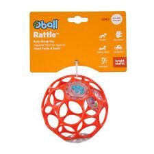 Oball Rattle 10 cm - Rot Rassel Ball Greifling Motorik Kleinkind  Baby Spielzeug