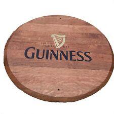 Recyclé en chêne massif Guinness marque whisky Tonneau Fin | en Bois Keg Fin