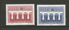 EUROPA CEPT 1984 Foroyar îles de Féroé 2 timbres neufs MNH /TR1683