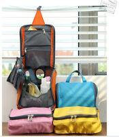 Ultra Light Waterproof Travel Toiletry Bag Hanging Organiser Makeup Cosmetic Bag