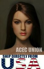 1/6 KIMI TOYS KT005 European American Female Head For Hot Toys Phicen Body USA
