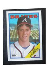 1988 Topps Tiffany Tom Glavine Atlanta Braves #779 Baseball Card