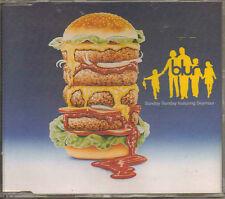 BLUR Sunday Sunday 4 piste cdfood46 GB CD Single 1993