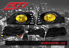 05-06 Acura RSX DC DC5 Type S Base K20 JDM Yellow Fog Light + Harness Kit