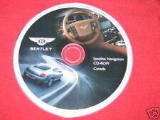 Bentley navigation disc DVD Canada 2004 2005 2006