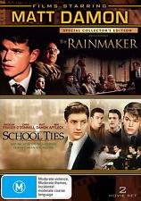 The Rainmaker / School Ties - Drama / Thriller - NEW DVD