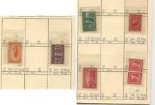 US  mint stamps   in circuit  book lot