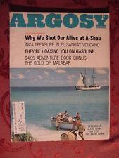 ARGOSY August 1967 SEYCHELLES ISLANDS JACK SCHAEFER +++