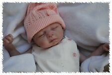 CUSTOM MADE REBORN! Leah ooak Life Like Baby vinyl art ARTIST DOLL