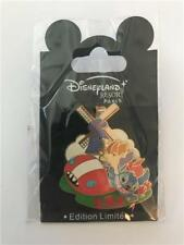 DLP- DLRP EUROPE INVASION SERIES #4 (STITCH IN HOLLAND) LE 900 DISNEY PARIS PIN