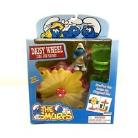 Vintage 1996 The Smurfs Daisy Wheel Play Set With SNAPPY FIGURE NEW
