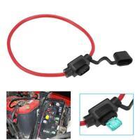 12 Awg. 25Cm Atc / Ato Inline Sicherungshalter Mit 30A Sicherung Blatt Für Auto