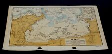 PERROS D-Day Invasion Planning of France - Rare WW2 Overlord Map 1943