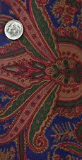Windsor, Paisley, Red, Green, Blue & Brown - NEW