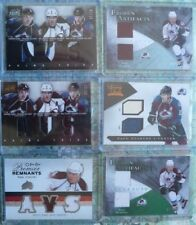 HUGE PAUL STASTNY Collection Game Jersey Patch Stick Autograph Lot /35 /25 /15