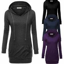 Unbranded Regular Solid 2XL Sweats & Hoodies for Women