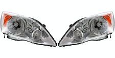 2007 2008 2009 2010 2011 HONDA CR-V HEAD LAMP LIGHT LEFT AND RIGHT PAIR SET